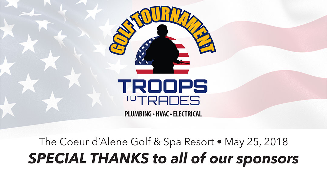 Troops to Trades Golf Tournament a Success!
