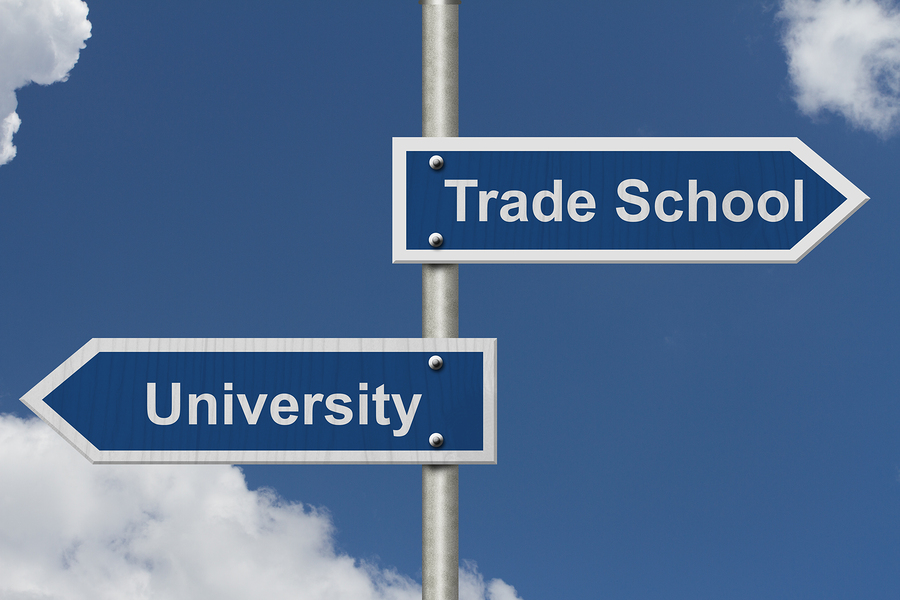 College vs A Trade: You Can Do Both
