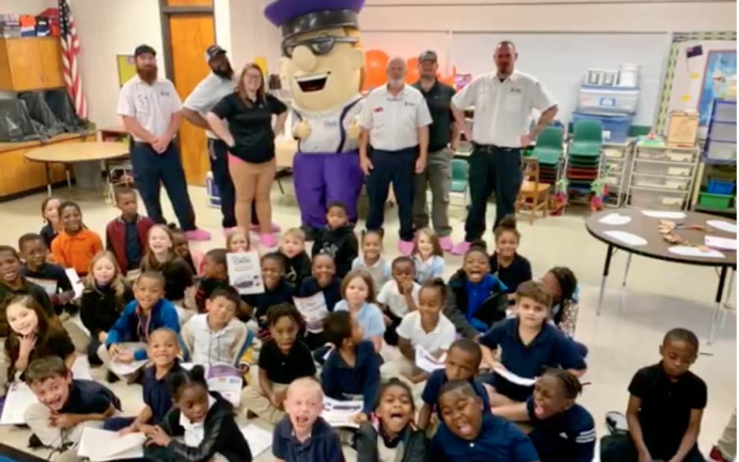 Blanton's Air, Plumbing & Electric Visits Local Elementary Students featured image