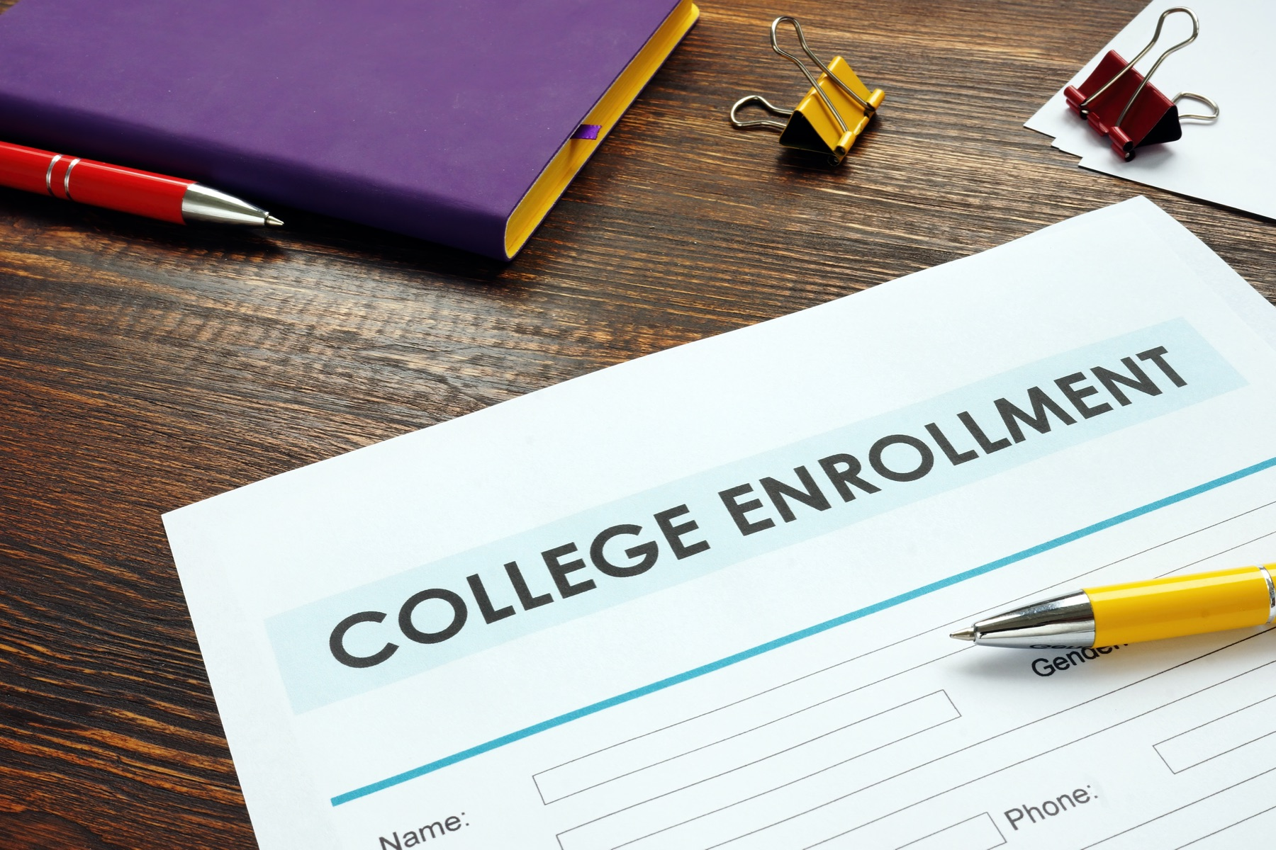 College Enrollment Is Down featured image